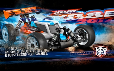 XRAY XB8E - 2017 SPECS - 1/8 LUXURY ELECTRIC OFF-ROAD CAR