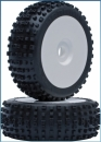 VTEC 1/8 Off-Road Buggy Harakiri Komplettrad verklebt - SOFT Compound