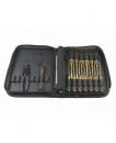 ARROWMAX Toolset For Offroad (16Pcs) With Tools Bag Black Golden