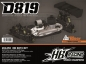 Preview: HB RACING D819 1/8 Competition Nitro Buggy