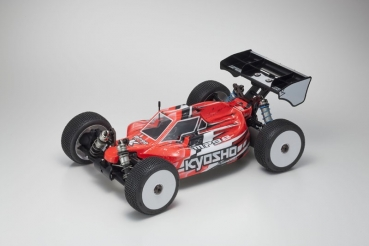 KYOSHO INFERNO MP9E EVO + TEAM ORION Vortex R8 WP Brushless ESC (130A, 2-4S) ORI65116-SY