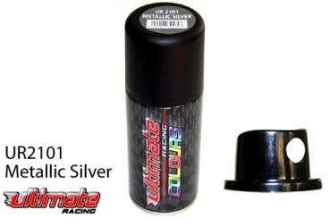 Ultimate Racing Lexanfarbe - Ultimate Colours - Metallic Silver
