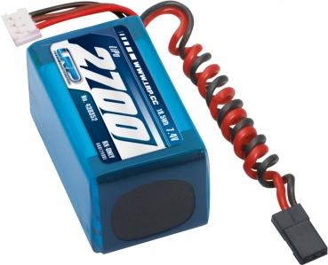 LRP VTEC LiPo 2700 RX-Pack 2/3A Hump - RX-only - 7.4V