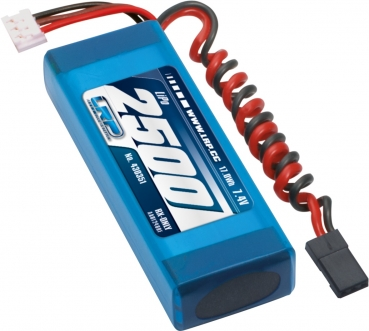 LRP VTEC LiPo 2500 RX-Pack 2/3A Straight - RX-only - 7.4V