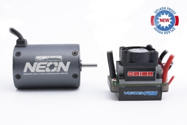 Combo Neon 17 (motor +R10 Sport controller Deans)