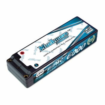 Muchmore IMPACT FD2 LiPo Battery 6000mAh / 7.4V 90C Flat Hard Case