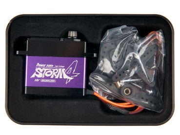 Power HD Brushless Premium Digital Servo Alu-Gehäuse # STORM-4