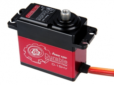 Power HD High Voltage Digital Servo Durable Alu-Gehäuse # D-15HV