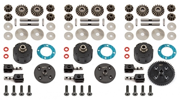 Team Associated RC8B3 V2 Differential Set