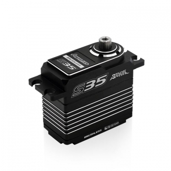 Power HD Servo Power HD S35 HV,MG, Brushless, caja alu, SSR (30 KG/0.075 SEC)