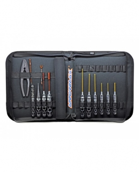 ARROWMAX Honeycomb Toolset For 1/10 Offroad (13pcs) with Tools bag