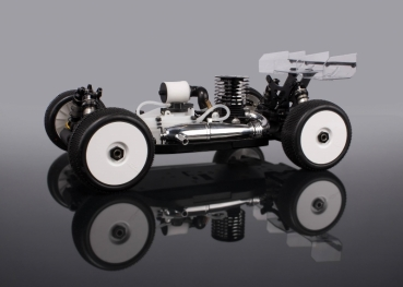 HB Racing D817 V2 1/8 Competition Nitro Buggy
