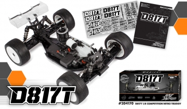 HB RACING D817T 1/8 Competition Nitro Truggy