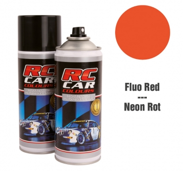 Robitronic Lexan Spray Fluo Rot 1005 150 ml