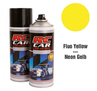 Robitronic Lexan Spray Fluo Gelb 1007 150 ml