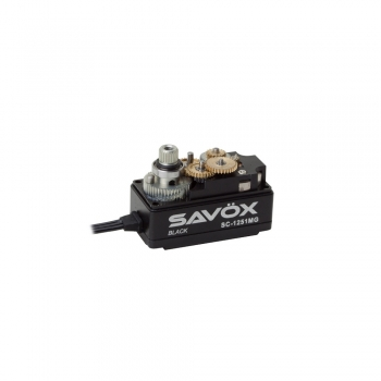 SAVÖX SC-1251MG SERVO BLACK EDITION