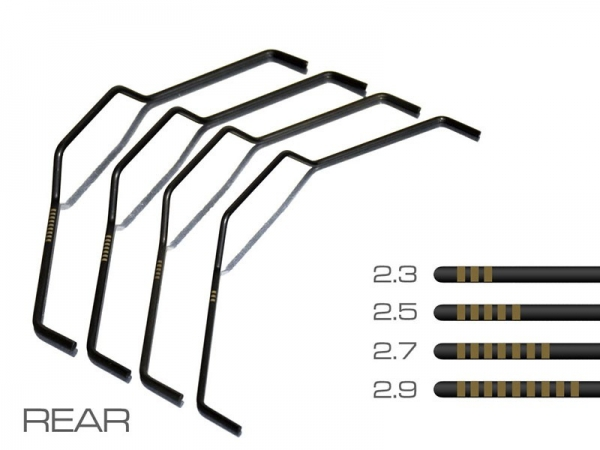RB One Stabilisator Set # vorne
