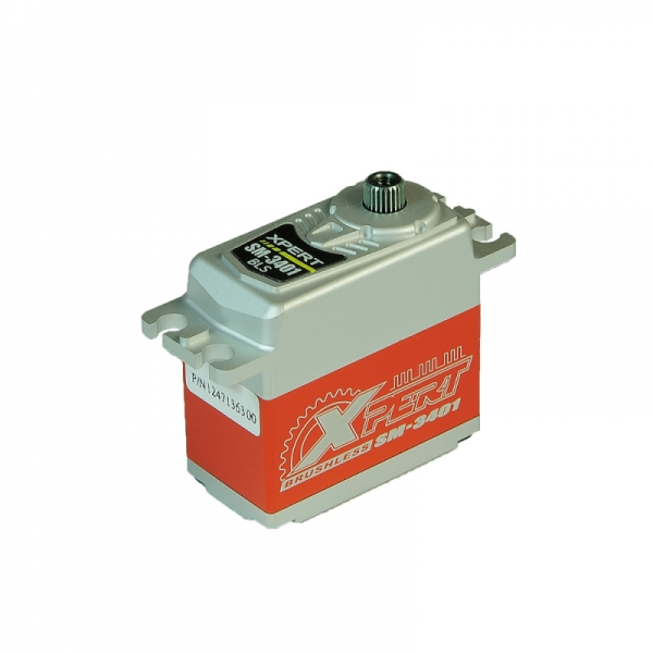 "Xpert-RC Brushless Digital Servo ""SM-3401"" ( 12,6kg / 0,07sek )"
