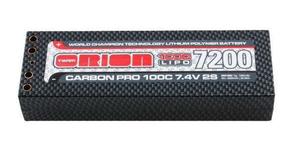 Team Orion Carbon Pro 7200 100C 7.4V (Tubes)