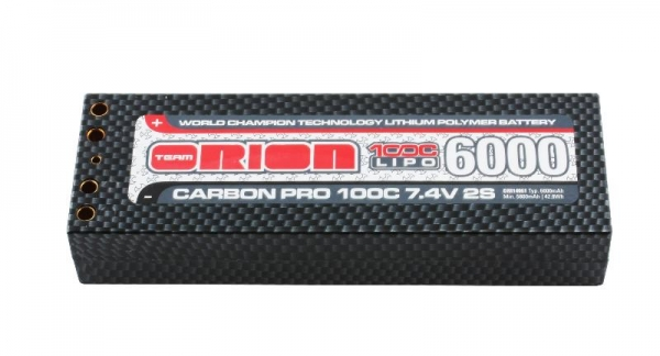 Team Orion Carbon Pro 6000 100C 7.4V (Tubes)