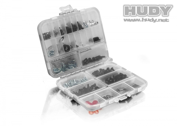 HUDY Hardware Box - Double-Sided compact