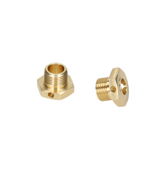 HB RACING Brass Wheel Hex Hub 2pcs (Narrow)