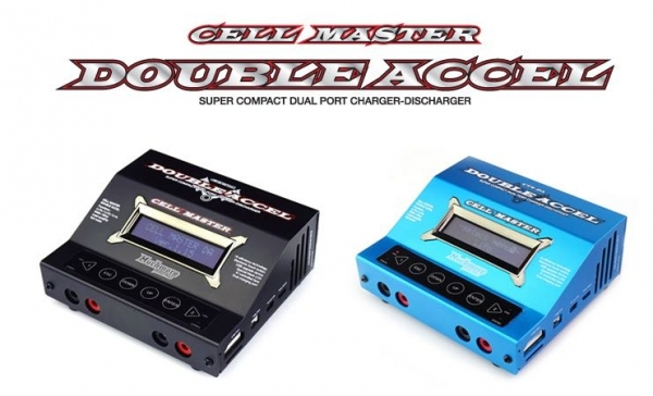 Muchmore Cell Master Double Accel - Black