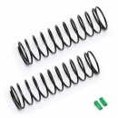 Team Associated FT 12mm Rear Springs, green, 2.00 lb