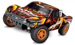 TRAXXAS Slash 4x4 orange/rot RTR +12V-Lader+Akku